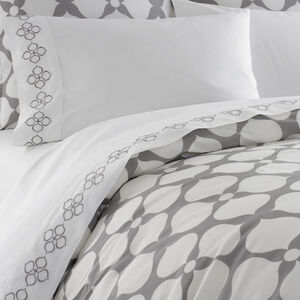 Duvets & Shams - Grey Hollywood Twin Duvet Cover