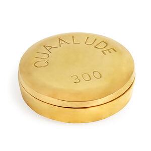 Brass Objects - Quaalude Brass Pill Box