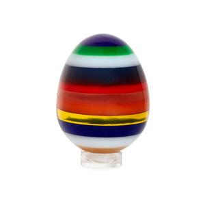 Decorative Objects - Large Stacked Acrylic Egg