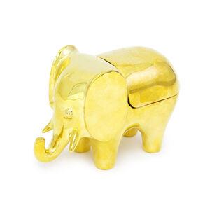 Storage & Organizing - Brass Elephant Box