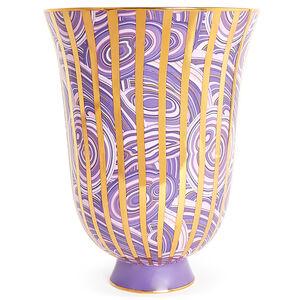All Sale - Malachite Stripe Urn