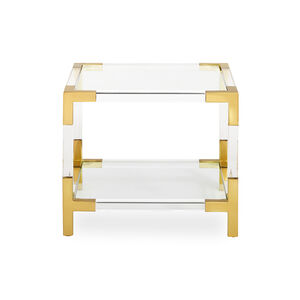 Cocktail, Side & Console Tables - Jacques Two-Tier Accent Table