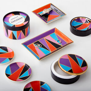 Boxes & Canisters - Harlequin Box
