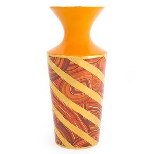 All Sale - Malachite Twist Vase
