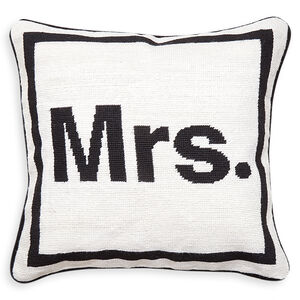 Cushions & Throws - Mrs. Needlepoint Cushion