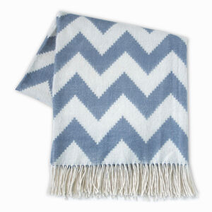 Cushions & Throws - Zig Zag Alpaca Throw