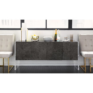 Cocktail, Side & Console Tables - Bond Four-Door Console