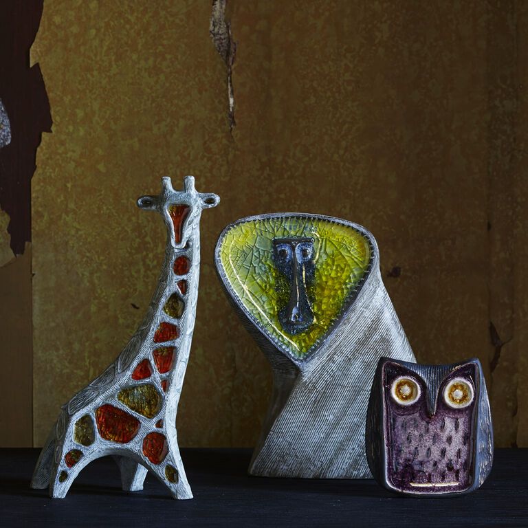 Holding Category for Inventory - Glass Menagerie Screech Owl