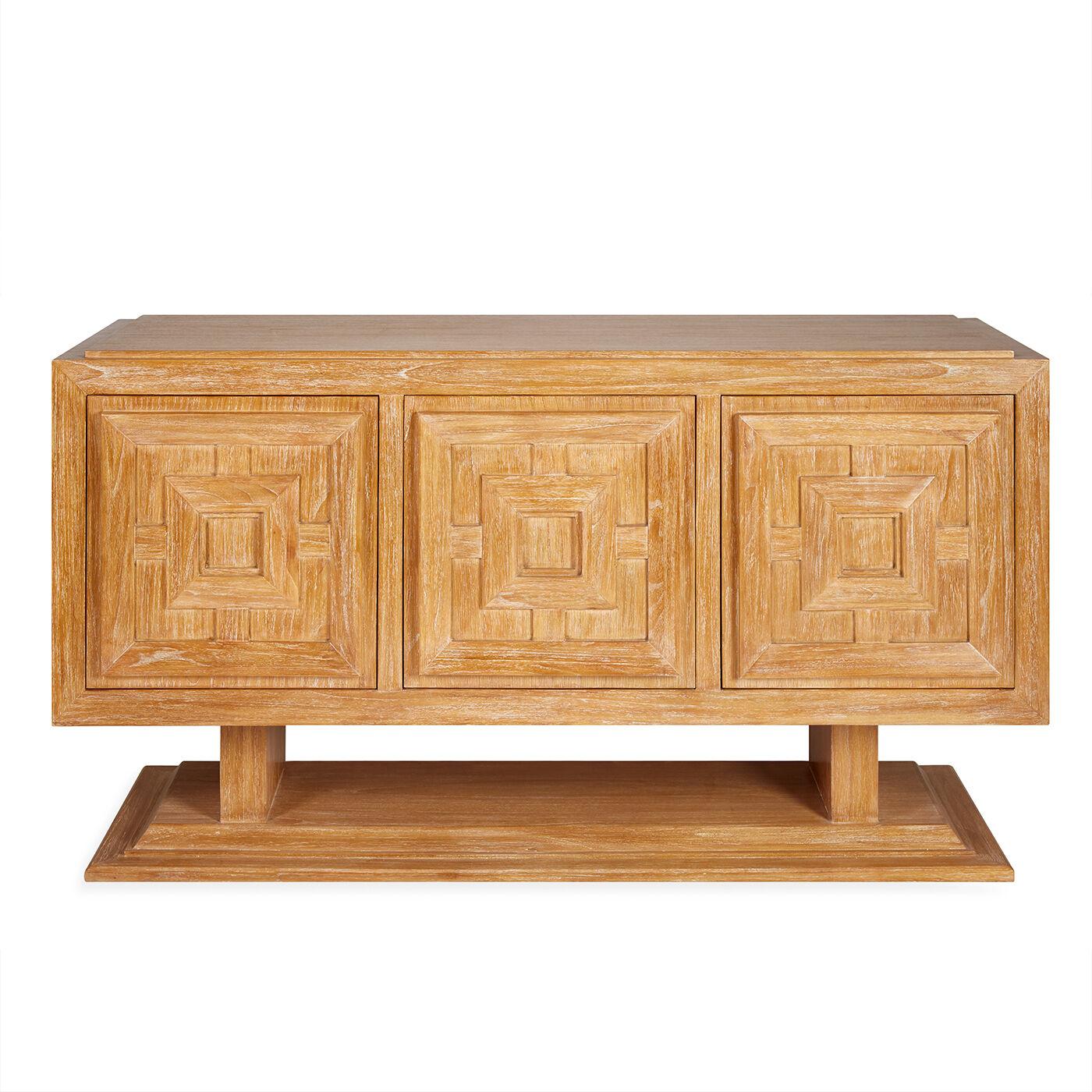 Antwerp Wood Credenza Modern Furniture Jonathan Adler