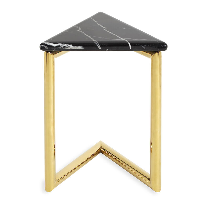 ultra triangle accent table | modern furniture | jonathan adler