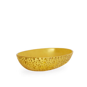 Bowls - Small Brutalist Brass Bowl