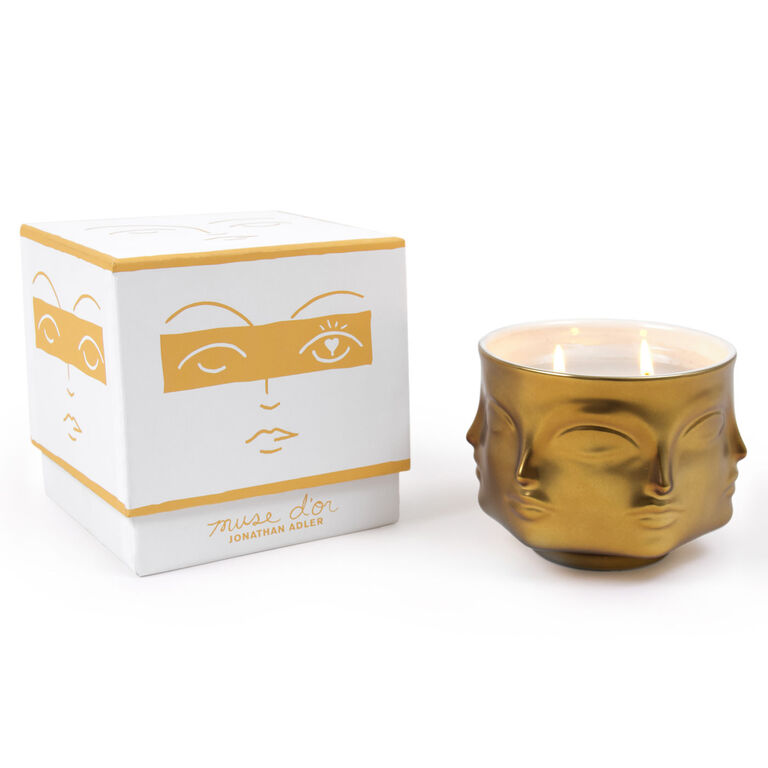 The Golden Rule - Muse D'Or Ceramic Candle