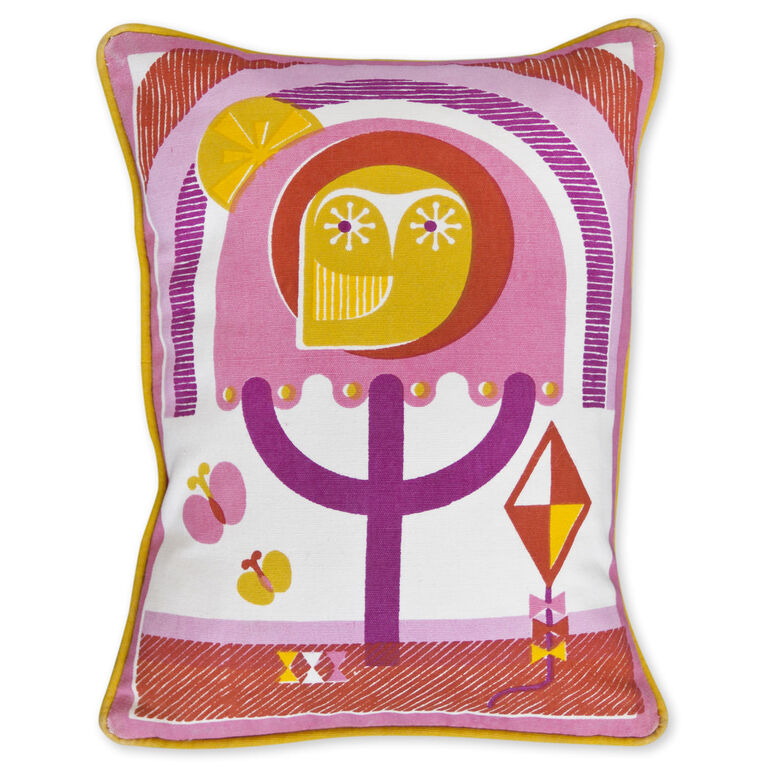 Bed - Junior Owl Throw Pillow