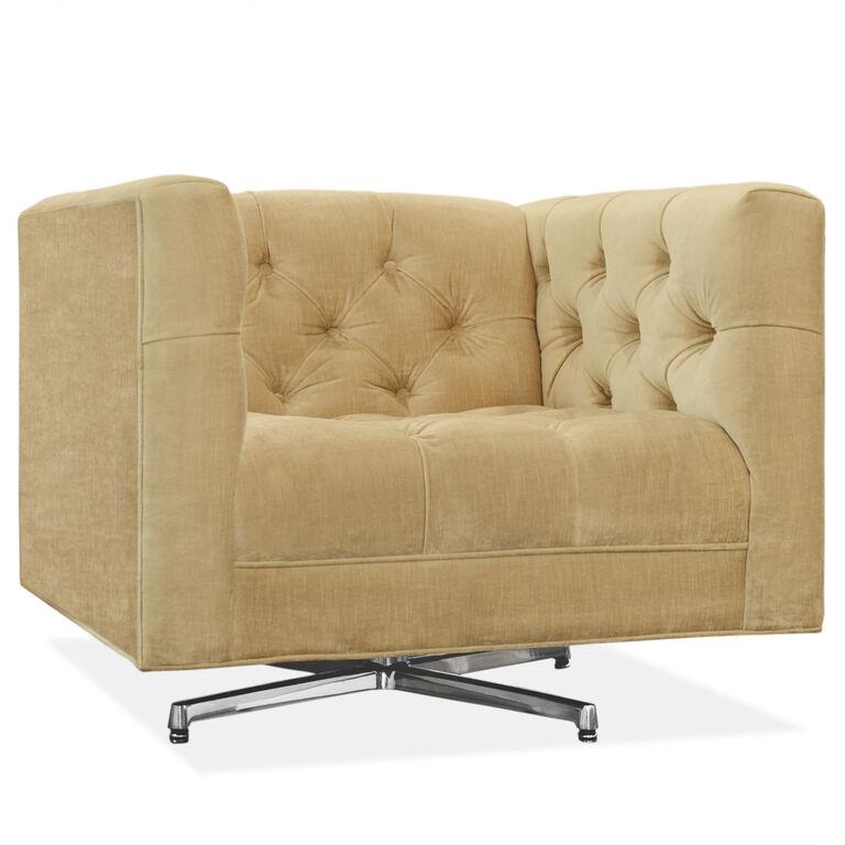 Jonathan Adler | Baxter Swivel Chair