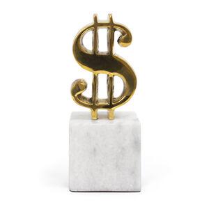 Brass Objets - Brass Dollar Sign Object