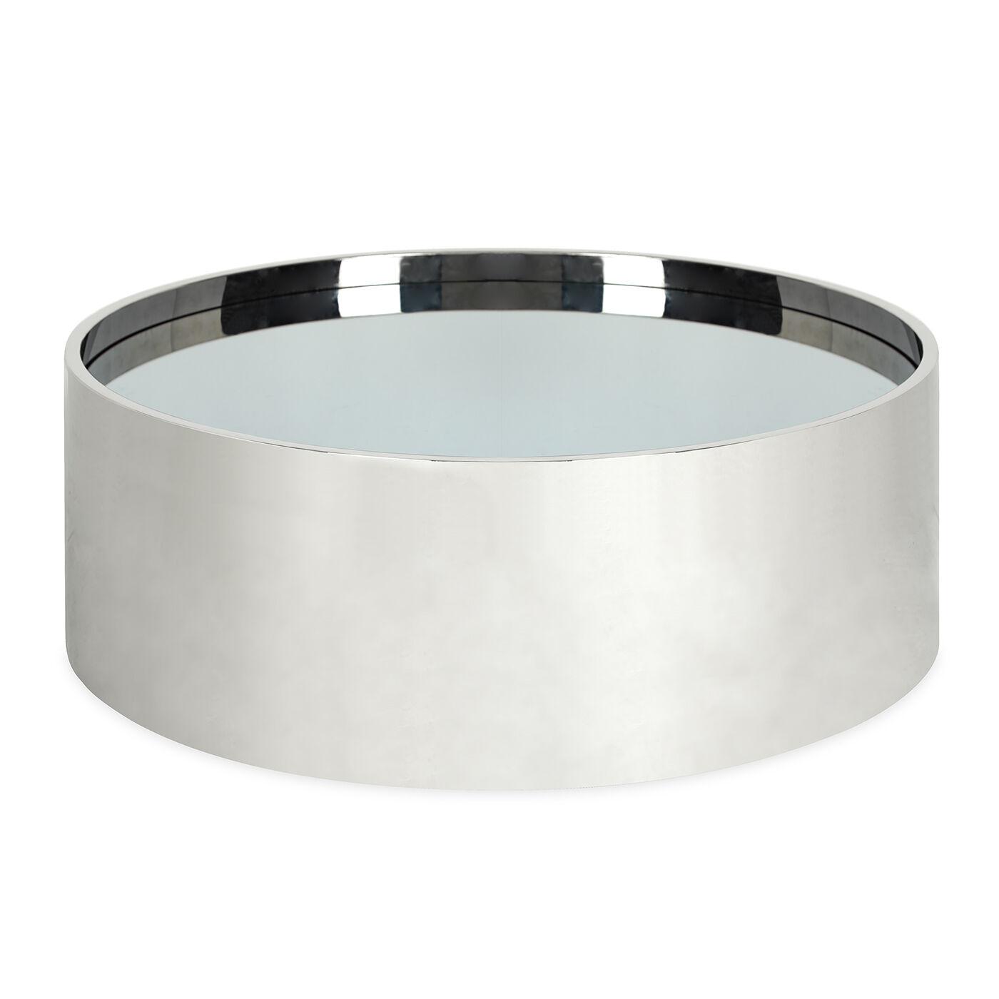 Great Alphaville Stainless Steel Cocktail Table | Modern Furniture | Jonathan  Adler
