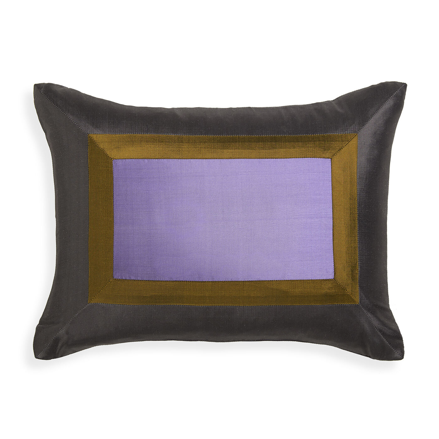 Lavender Siam Silk Throw Pillow Modern Holding Category for