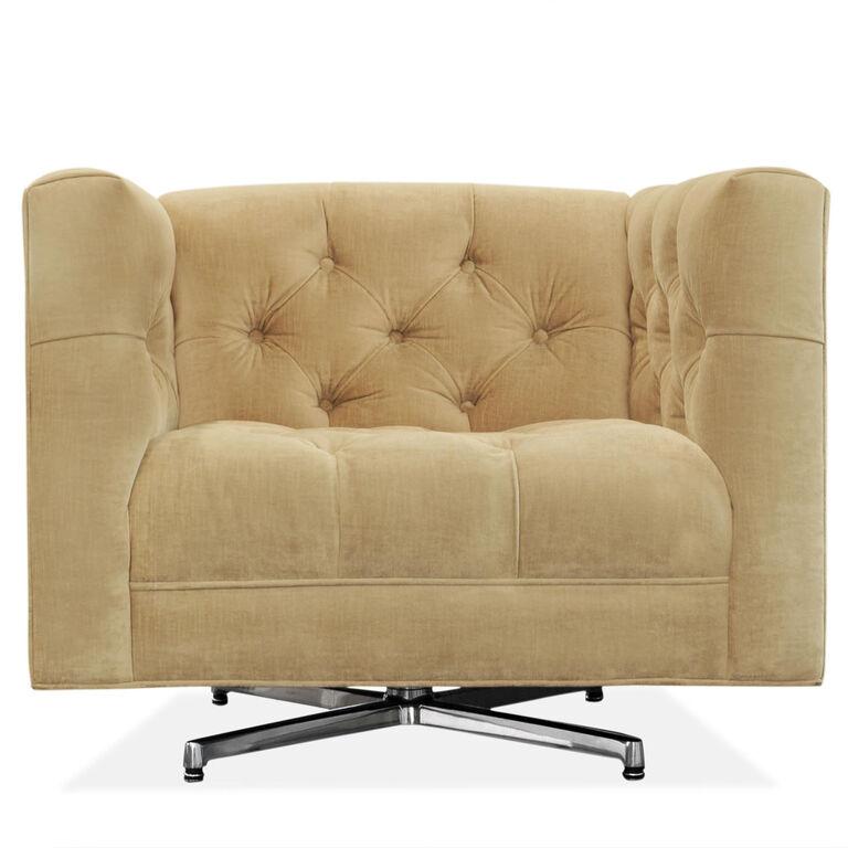 Jonathan Adler | Baxter Swivel Chair 1