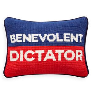 Needlepoint - Benevolent Dictator Needlepoint Pillow