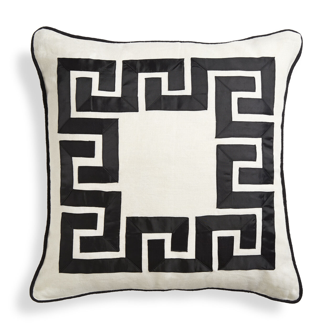 holding category for inventory positano greek key throw pillow