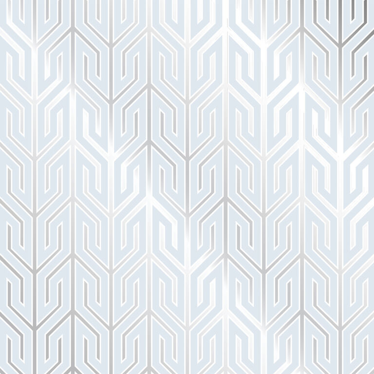 Jaipur Black and Silver Wallpaper