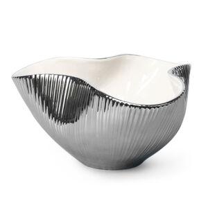 Bowls - Large Metallic Pinch Bowl