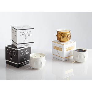 Candles - Muse Blanc Ceramic Candle
