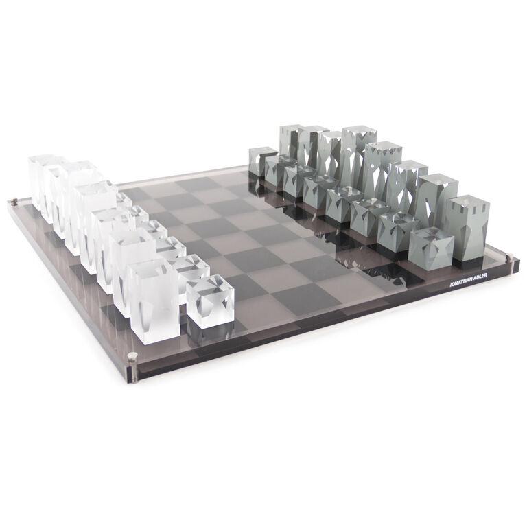 Decorative Chess Sets acrylic chess set | modern décor & pillows | jonathan adler