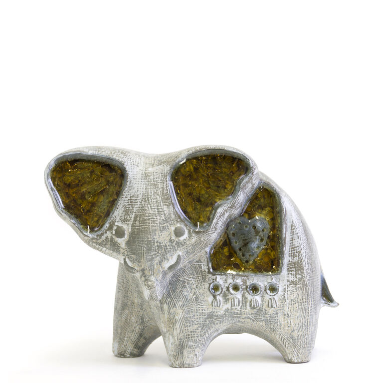 Holding Category for Inventory - Glass Menagerie Elephant