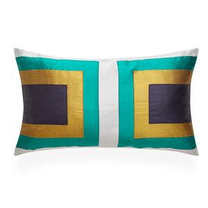 Bedroom Essentials - Emerald Siam Collision Throw Pillow