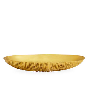 Bowls - Large Brutalist Brass Bowl