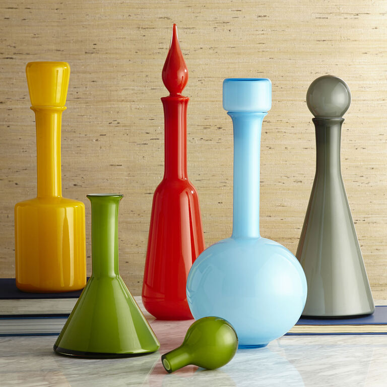 Decanters & Carafes - Green Pop Decanter
