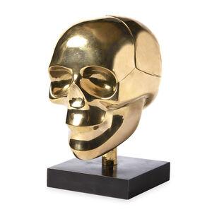 Decorative Objets - Brass Skull Box