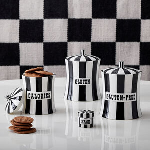 Cookie Jars & Canisters - Calories Canister