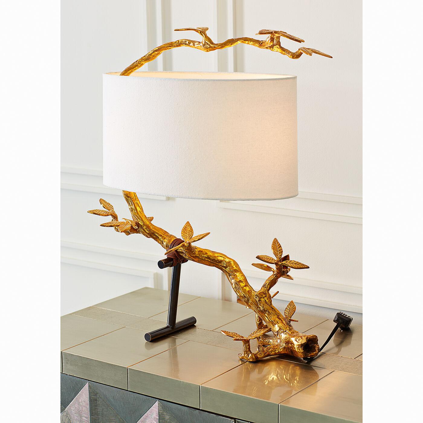 Kyoto Brass Table Lamp | Modern Table Lamps | Jonathan Adler