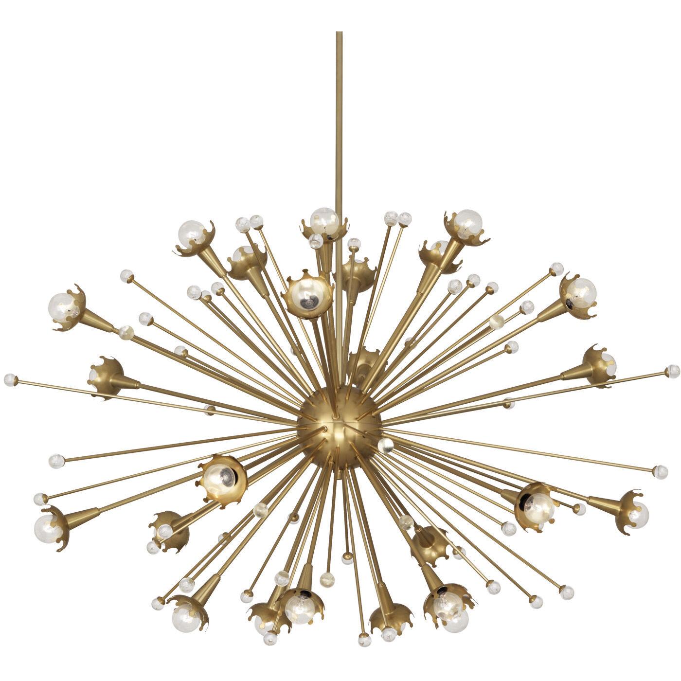 Giant Sputnik Brass Chandelier | Modern Chandeliers | Jonathan Adler