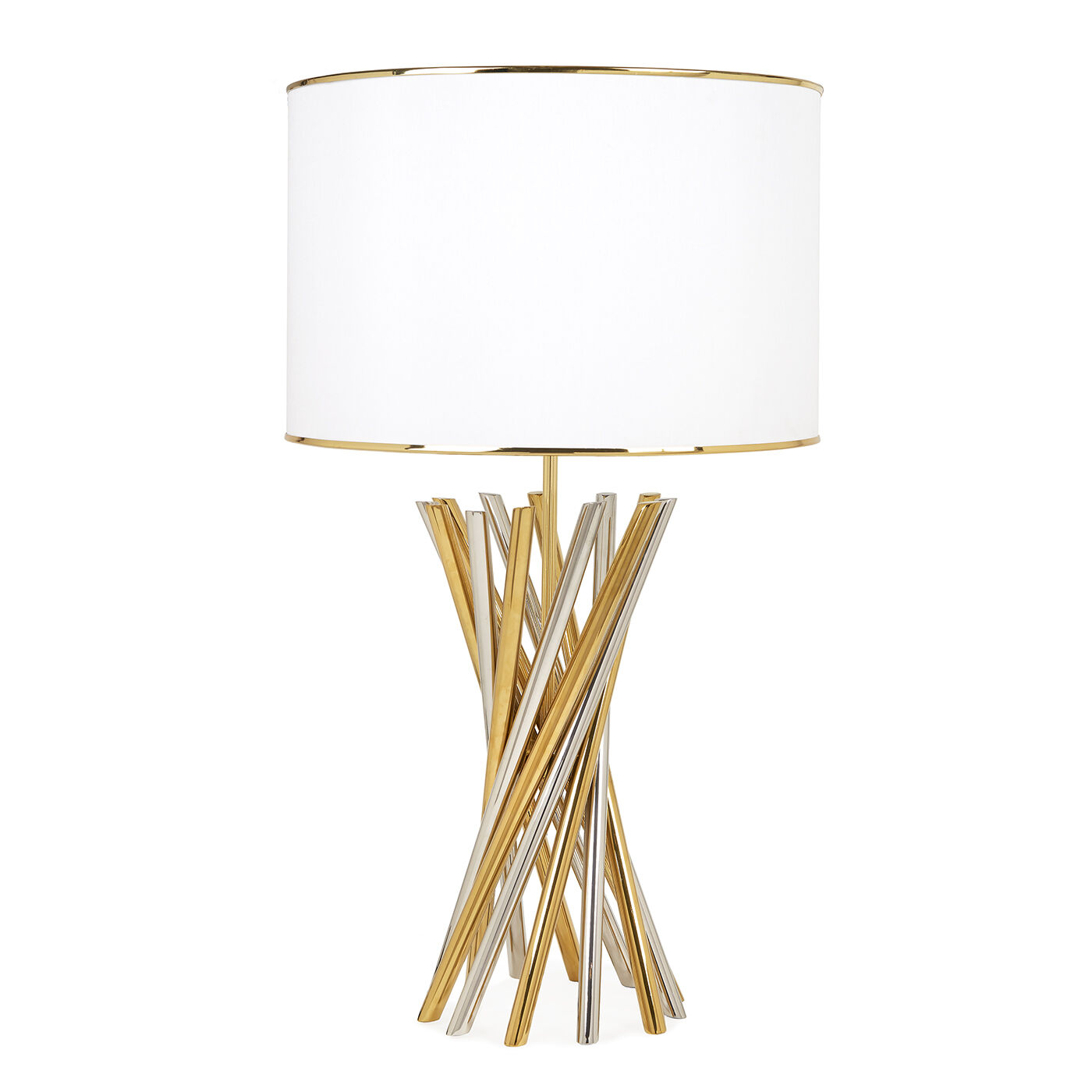 Holding Category For Inventory   Electrum Table Lamp