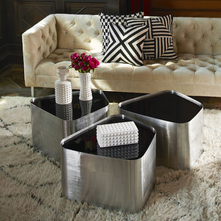 Décor & Pillows - Charade Square Studded Box