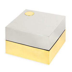 Boxes & Canisters - Electrum Square Box