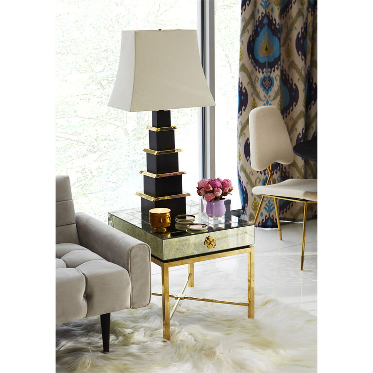 Holding Category for Inventory - Pagoda Table Lamp