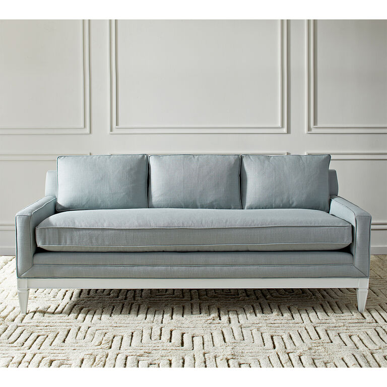 Templeton Apartment Sofa in Devere Cloud Linen | Modern Furniture ...