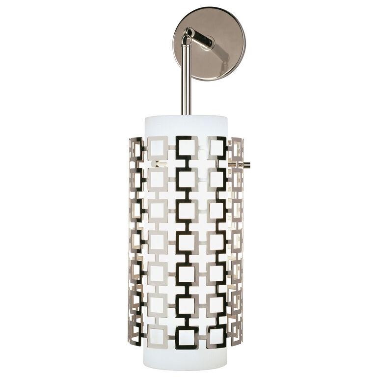 Parker nickel pendant sconce modern sconces jonathan adler wall lamps amp sconces parker pendant sconce aloadofball Images