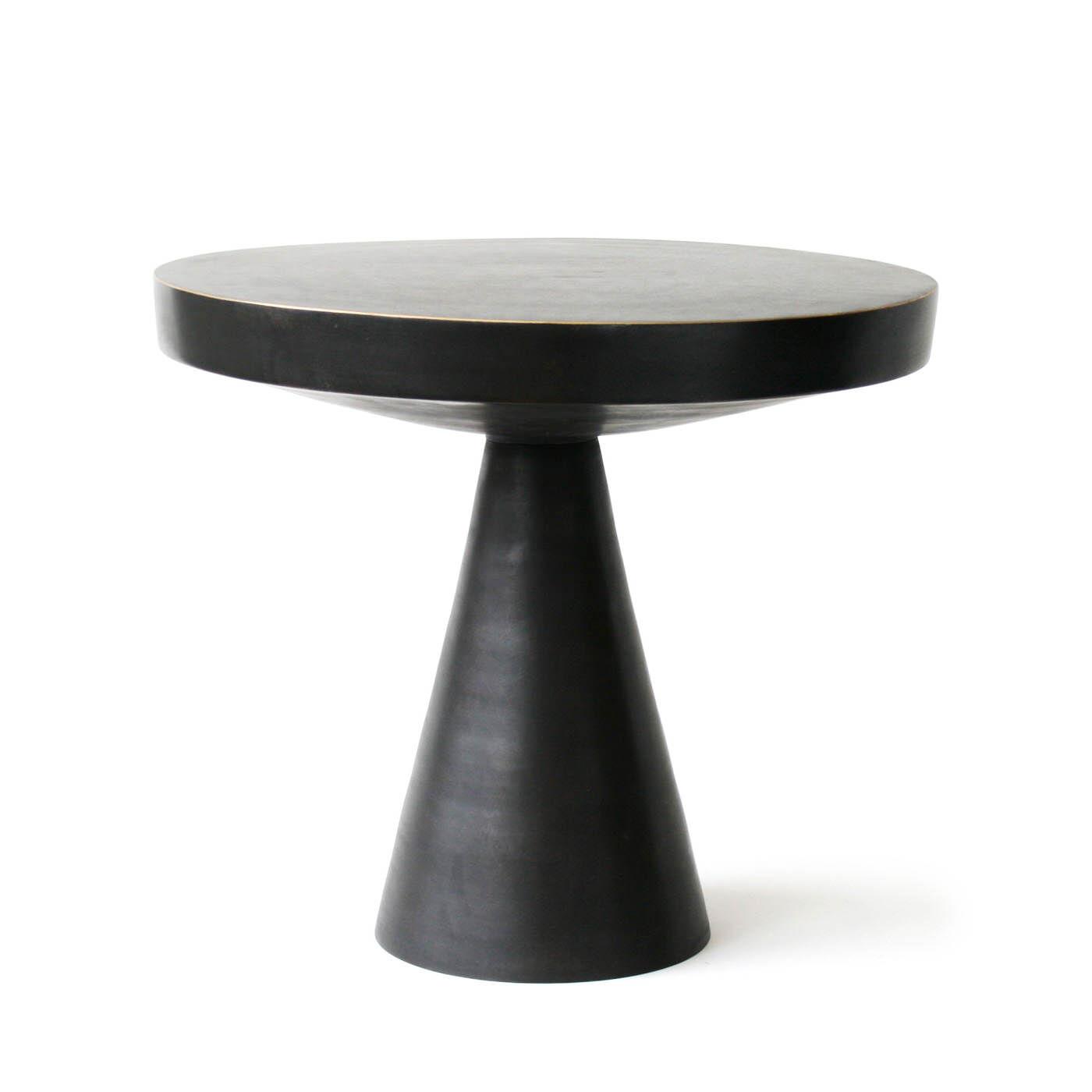 Hans Pedestal Side Table Modern Furniture Jonathan Adler