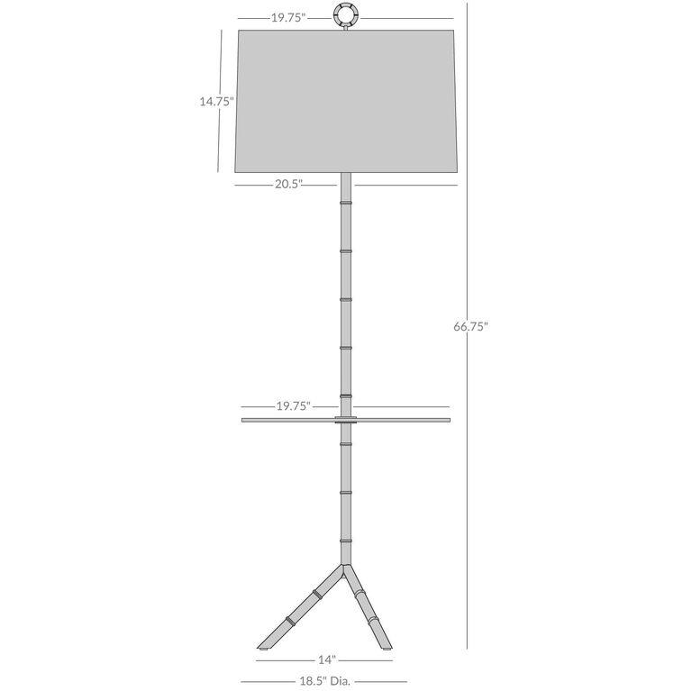 Floor Lamps - Meurice Table Floor Lamp