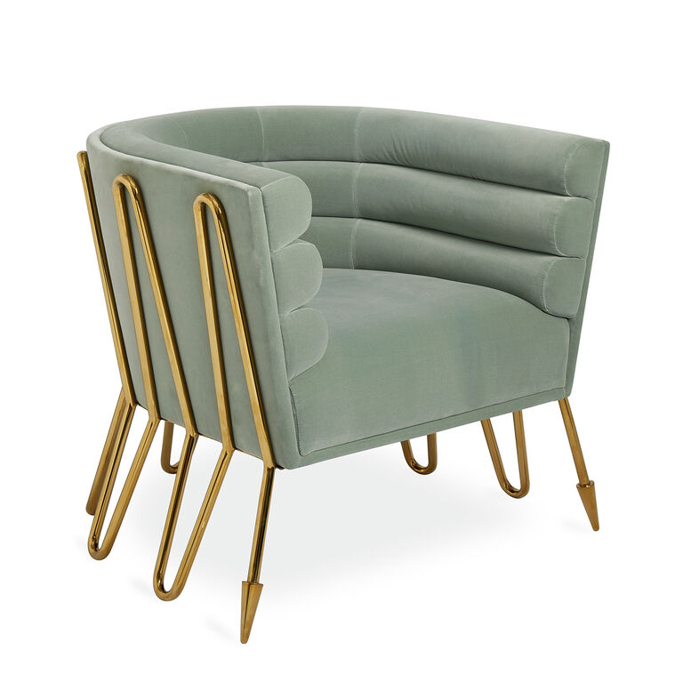 Maxime Club Chair Modern Furniture Jonathan Adler - Club chairs furniture