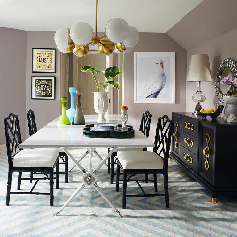Rider Dining Table | Modern Furniture | Jonathan Adler