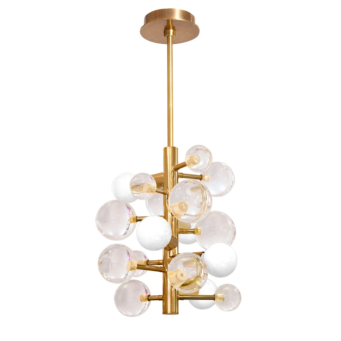 Chandeliers - Globo Five-Light Chandelier  sc 1 st  Jonathan Adler & Globo Clear Five-Light Chandelier | Modern Chandeliers | Jonathan ... azcodes.com
