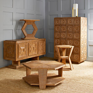 Side & Accent Tables - Antwerp Pedestal Side Table