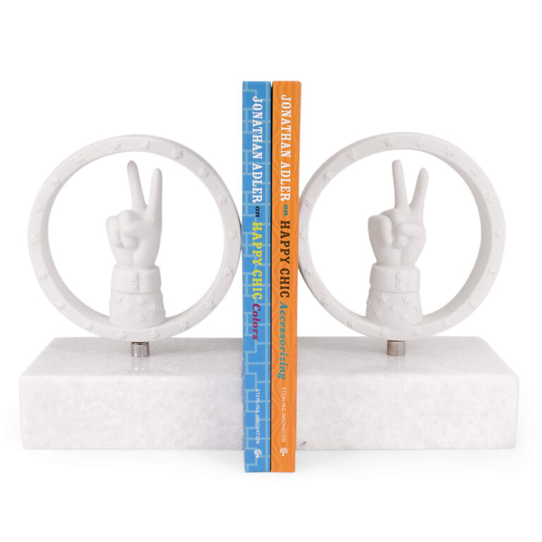 Bookends - Peace Bookend Set