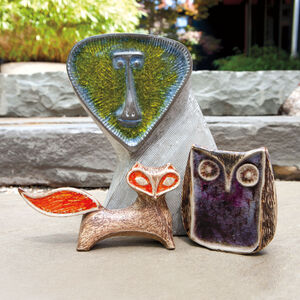 Decorative Objects - Glass Menagerie Screech Owl
